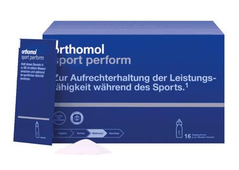 Orthomol Sport Perform 16 гранули електролітний напій 1 комплект