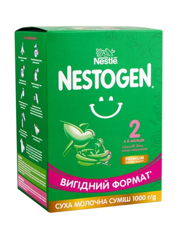 Nestogen 2 Суха молочна суміш з 6 місяців 1000 г 1 коробка