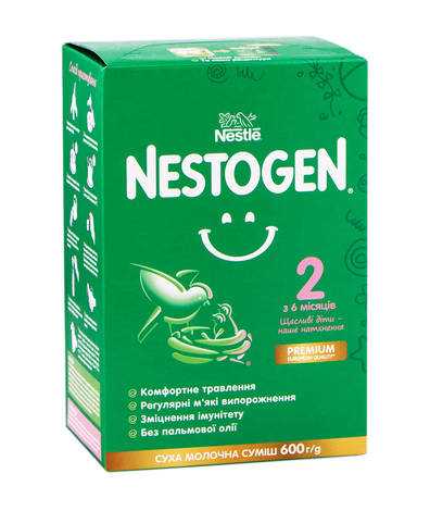 Nestogen 2 Суха молочна суміш з 6 місяців 600 г 1 коробка