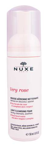 Nuxe Very Rose Легка очищуюча пінка для обличчя 150 мл 1 флакон