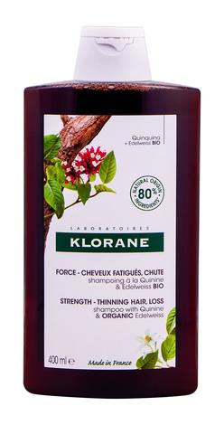 Klorane Шампунь Хінін та Едельвейс проти випадіння волосся 400 мл 1 флакон