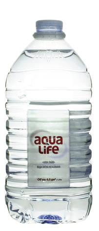 Аква-Лайф Вода питна негазована 6 л 1 пляшка