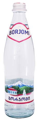 Borjomi Вода мінеральна сильногазована 0,5 л 1 пляшка