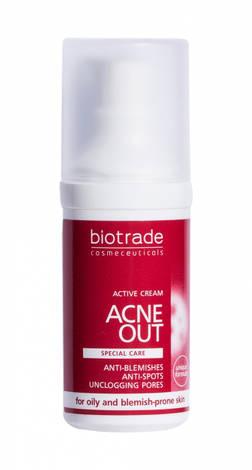 Biotrade ACNE OUT Активний крем для проблемної шкіри з вуграми та комедонами 30 мл 1 флакон