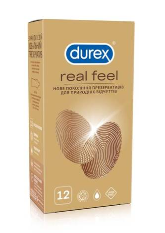 Durex Презервативи Real Feel 12 шт