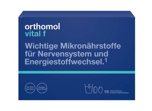 Orthomol Vital F комплекс для жінок гранули 15 днів 1 комплект