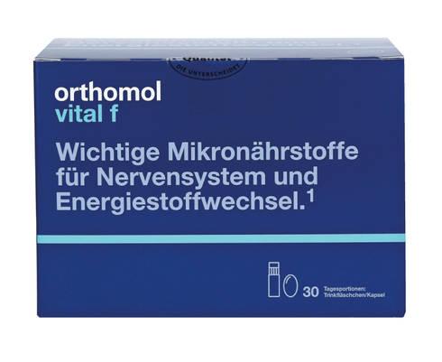 Orthomol Vital F комплекс для жінок флакони 30 днів 1 комплект