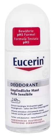 Eucerin Дезодорант кульковий 24 години захисту для гіперчутливої шкіри 50 мл 1 флакон
