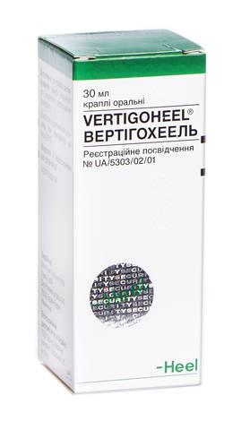 Вертігохеель краплі оральні 30 мл 1 флакон
