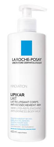 La Roche-Posay Lipikar Молочко ліпідовідновлюючий засіб для сухої та дуже сухої шкіри тіла немовлят та дорослих 400 мл 1 флакон