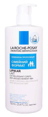 La Roche-Posay Lipikar Молочко ліпідовідновлюючий засіб для сухої та дуже сухої шкіри тіла немовлят та дорослих 750 мл 1 флакон