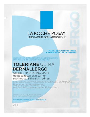 La Roche-Posay Toleriane Ultra Dermalergo Маска зволожуюча тканинна для гіперчутливої та схильної до алергії шкіри обличчя 28 г 1 пакет