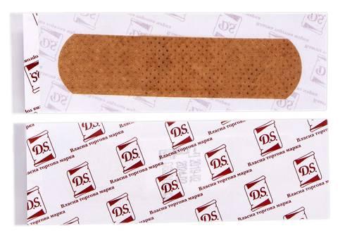 D.S. Пластир бактерицидний на нетканій основі еластичний 7,2х1,9 см 1 шт