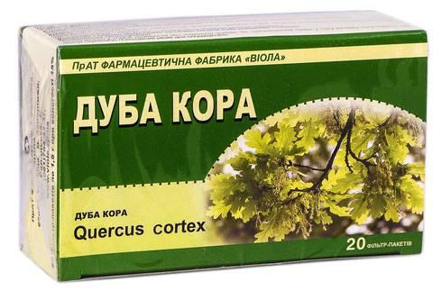 Віола Дуба кора 1,5 г 20 фільтр-пакетів