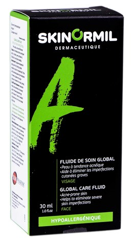Skinormil Флюїд Глобальний догляд для шкіри, схильної до акне 30 мл 1 туба