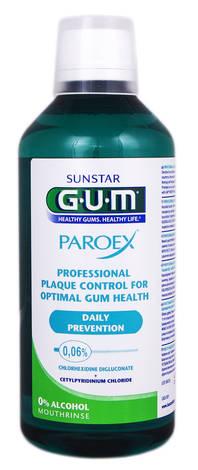Gum Paroex 0,06 % Ополіскувач для ротової порожнини 500 мл 1 флакон