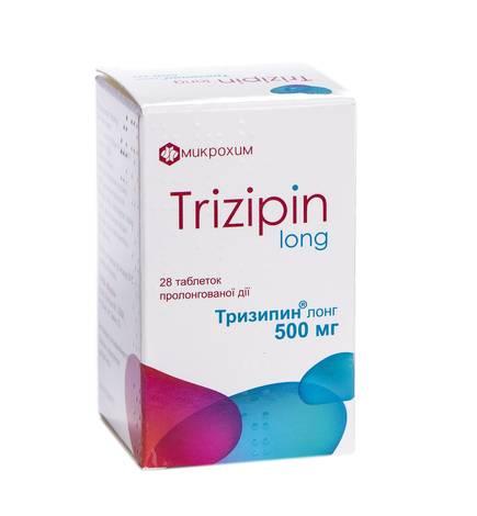 Тризипін Лонг таблетки 500 мг 28 шт