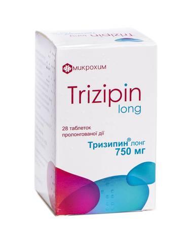 Тризипін Лонг таблетки 750 мг 28 шт