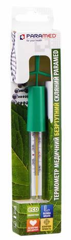 Paramed Термометр медичний безртутний скляний 1 шт