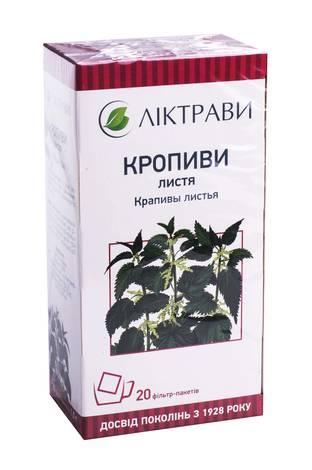 Ліктрави Кропиви листя 1,5 г 20 фільтр-пакети