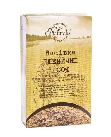 Naturalis Висівки пшеничні 250 г 1 коробка