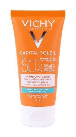 Vichy Capital Soleil Сонцезахисний крем для нормальної та сухої чутливої шкіри обличчя SPF 50+ 50 мл 1 туба