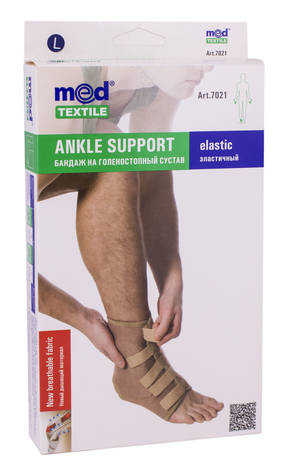 MedTextile 7021 Бандаж на гомілковостопний суглоб еластичний  розмір L 1 шт