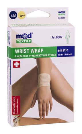 MedTextile 8502 Бандаж на променево-зап`ястний суглоб еластичний розмір S/M 1 шт