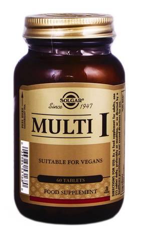 Solgar Мульті-I таблетки 60 шт
