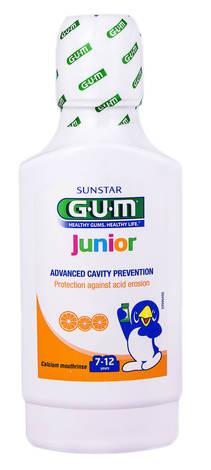 Gum Junior Ополіскувач для порожнини рота 7-12 років 300 мл 1 флакон