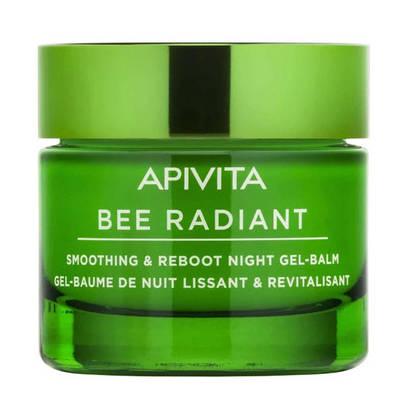 Apivita Bee Radiant Гель-бальзам нічний для розгладження та відновлення шкіри обличчя 50 мл 1 банка