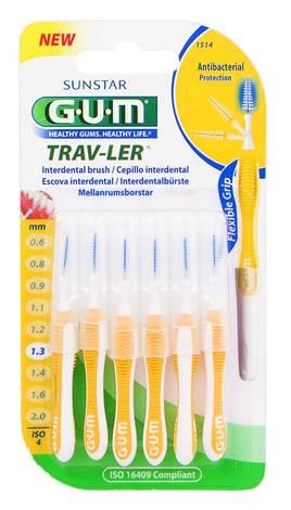 Gum Trav-Ler Зубна щітка міжзубна 1,3 мм 6 шт