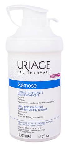 Uriage Xemose Крем проти подразнення ліпідовідновлюючий 400 мл 1 банка