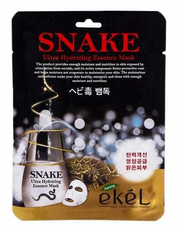 Ekel Маска для обличчя з екстрактом Зміїної отрути Ефект Ботоксу 25 мл 1 пакет
