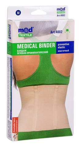 MedTextile 4002 Бандаж лікувально-профілактичний еластичний розмір М 1 шт