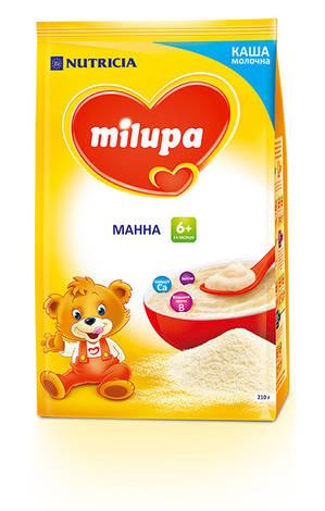 Milupa Каша молочна манна з 6 місяців 210 г 1 пакет