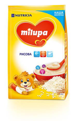 Milupa Каша молочна рисова з 4 місяців 210 г 1 пакет