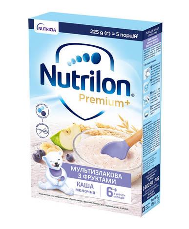 Nutrilon Каша мультизлакова з фруктами з 6 місяців 225 г 1 коробка