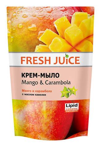Fresh Juice Крем-мило рідке Манго і карамбола з олією камелії 460 мл 1 пакет