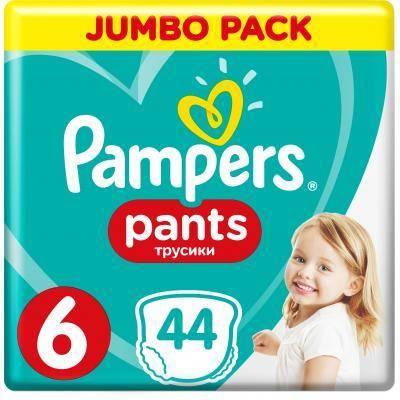 Pampers Pants 6 Extra large Підгузки-трусики дитячі 15+ кг 44 шт