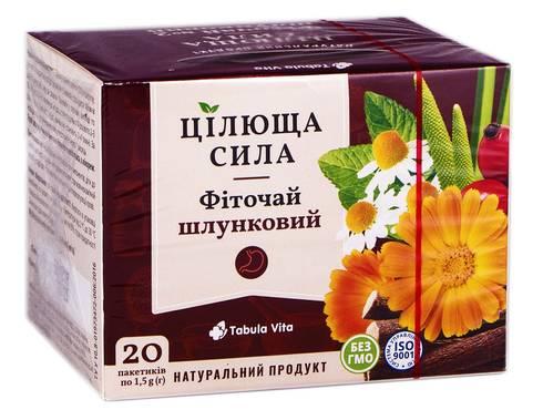 Tabula Vita Цілюща сила Фіточай №2 шлунковий 20 пакетиків