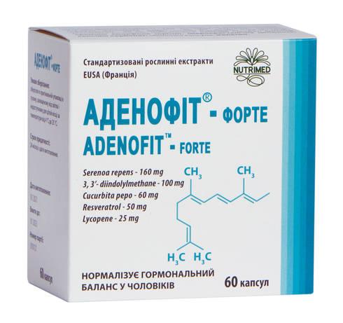Аденофіт-Форте капсули 60 шт