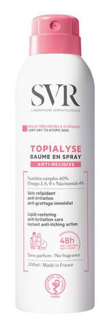 SVR Topialyse Бальзам-спрей ліпідовідновлюючий проти подразнень 200 мл 1 флакон