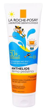 La Roche-Posay Anthelios Дермо-Педіатрікс Молочко сонцезахисне з технологією нанесення на вологу шкіру SPF-50+ 250 мл 1 туба