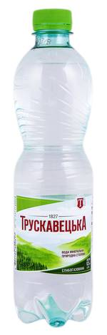 Трускавецька Вода мінерально-столова слабогазована 0,5 л 1 пляшка