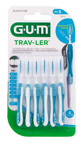 Gum TravLer Зубна щітка міжзубна 1.6 мм 1 шт