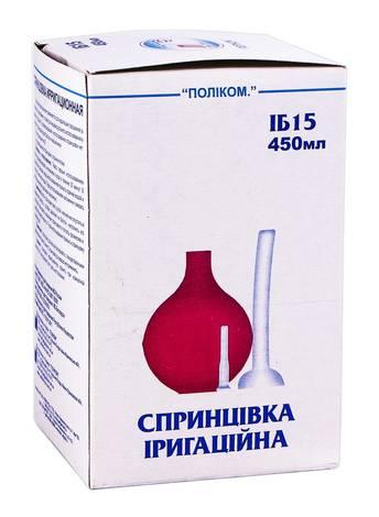Поліком Спринцівка іригаційна ІБ-15 450 мл 1 шт