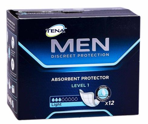 Tena Men Level 1 Light Прокладки урологічні чоловічі 12 шт