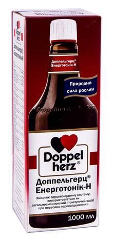 Doppel herz Енерготонік- H розчин оральний 1000 мл 1 пляшка