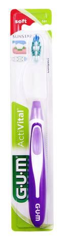Gum ActiVital Зубна щітка компактна м'яка 1 шт